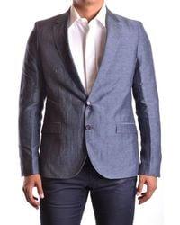 CoSTUME NATIONAL | Men's Mcbi074018o Grey Linen Suit | Lyst