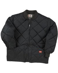 Dickies - Men's Diamond Quilted Nylon Jacket Tall - Lyst