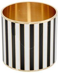 Givenchy | Extra Large Striped Enamel Bangle | Lyst