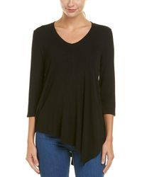Three Dots - Angie Asymmetrical Top - Lyst