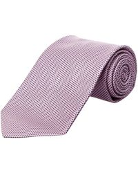 Brooks Brothers - Pink Basketweave Silk Tie - Lyst