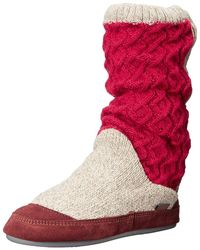 Acorn - Slouch Boot (buff Popcorn) Women's Slippers - Lyst