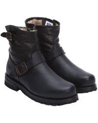 Frye - Men's Warren Leather Engineer Boot - Lyst