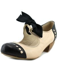 All Black - Soft Bow 2 Women Round Toe Leather Mary Janes - Lyst