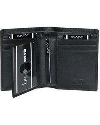 Buxton - Men's Houston Rfid Deluxe Two-fold - Lyst