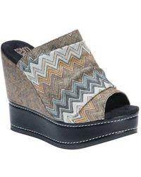 Muk Luks - Women's Peyton Platform Wedge Sandal - Lyst