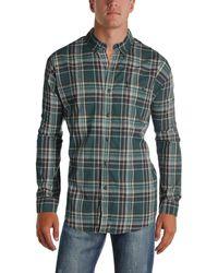 G.H.BASS - G.h. Bass & Co. Mens Plaid Work Wear Button-down Shirt - Lyst