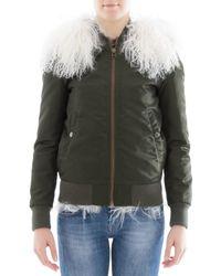 Mr & Mrs Italy - Women's Green Polyamide Jacket - Lyst