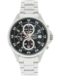 Seiko - Sks627 Silver Stainless-steel Japanese Chronograph Fashion Watch - Lyst