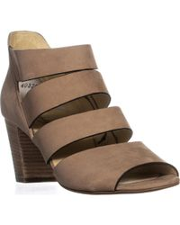 Paul Green - Michelle Strappy Block Heel Sandals, Sisal - Lyst
