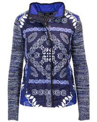 Desigual - Women's Blue Polyamide Jacket - Lyst
