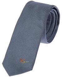 Paul Smith - Men's Blue Silk Tie - Lyst