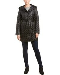 Cole Haan - Quilted Coat - Lyst