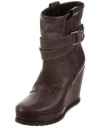 Brunello Cucinelli - Wedge Ankle Boots - Lyst