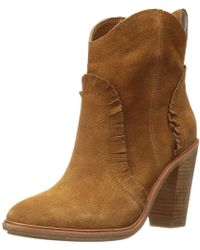 Joie - Womens Mathilde Closed Toe Ankle Fashion Boots - Lyst