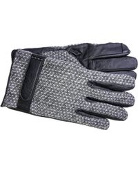 Gloves International - Embossed Leather Thinsulate Touchscreen Gloves - Lyst