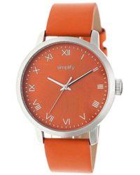 Simplify - Men's The 4200 Quartz Watch - Lyst