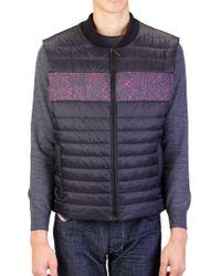 Roberto Cavalli - Men Puffer Vest Jacket Black - Lyst