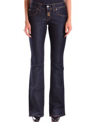 John Galliano - Women's Mcbi130064o Blue Cotton Jeans - Lyst