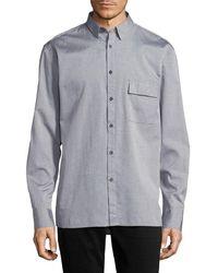 Zanerobe - Solid Boxy Fit Sportshirt - Lyst