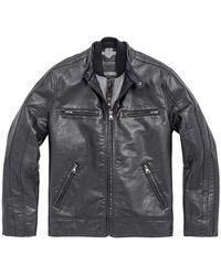 Marc New York - Mens Anson Racer Jacket In Black - Lyst
