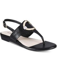 Alfani - Womens Hamilyn Open Toe Casual Ankle Strap Sandals - Lyst