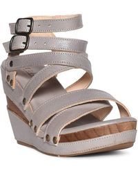 Bed Stu - Women's Juliana Wedge Sandal - Lyst