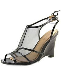 Pour La Victoire - Bee Women Open Toe Synthetic Wedge Sandal - Lyst