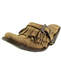 Old Gringo - Dora Women Round Toe Leather Brown Clogs - Lyst