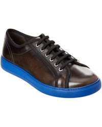 Ferragamo - Fulton Leather Trainer - Lyst
