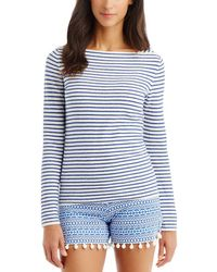 J.McLaughlin - Linen-blend Sweater - Lyst