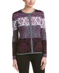 Obermeyer - Daisy Knit Wool-blend Cardigan - Lyst