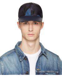 Valentino - Men's Black Cotton Hat - Lyst