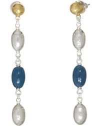 Gurhan - Cocoon Hue Apatite Drop Earrings - Lyst