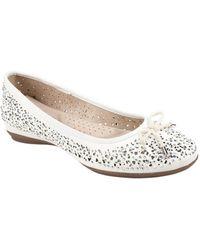 White Mountain Footwear - Myriam Ballet Flat - Lyst