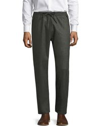Billy Reid - Stanton Wool Pant - Lyst