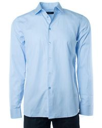 Givenchy - Mens Light Blue W/ Sleeve Button Down - Lyst