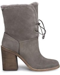 UGG - Womens Jerene Closed Toe Ankle Cold Weather Boots - Lyst