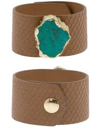 Saachi - Pool Bracelet With Turquoise Agate - Lyst