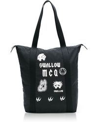 McQ - Women's Black Polyester Tote - Lyst