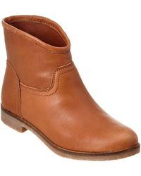 Lucky Brand - Garmann Leather Bootie - Lyst