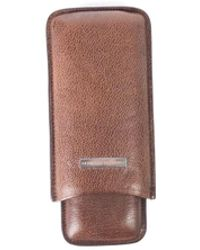 Brunello Cucinelli - Brown Grained Leather Expandable Cigar Case - Lyst