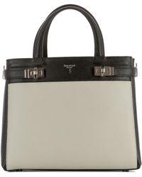 Serapian - Women's Beige Leather Handbag - Lyst