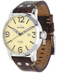 TW Steel - Watch Maverick Automatik Dark Brown Ms26 - Lyst
