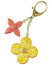 Louis Vuitton | Gold-tone Yellow & Pink Bag Charm | Lyst