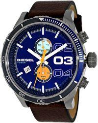DIESEL - Men's Double Down 2.0 Watch - Lyst