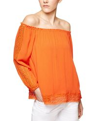 Sanctuary - Chantel Off The Shoulder Embroidered Top - Lyst