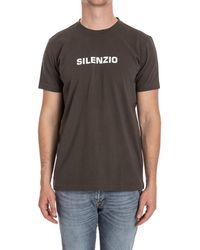 Aspesi - Men's Green Cotton T-shirt - Lyst