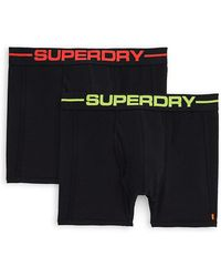 Superdry - Two-pack Sports Boxer Short - Lyst