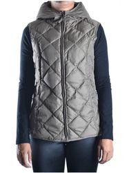 Brema - Women's Grey Polyamide Vest - Lyst